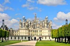 Castillo francés francés - Chamboid Fotografía de archivo