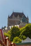 Castillo francés Frontenac Imagen de archivo