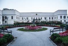 Castillo francés Frystat en la ciudad de Karvina en República Checa foto de archivo libre de regalías