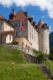 Castillo francés Gruyeres Foto de archivo libre de regalías