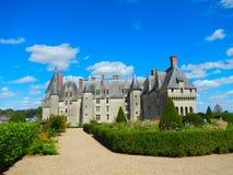 Castillo francés Langeais Imagen de archivo libre de regalías