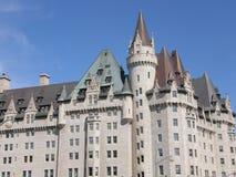 Castillo francés Laurier en Ottawa Imagen de archivo