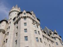 Castillo francés Laurier en Ottawa Fotografía de archivo