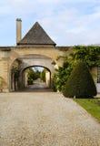 Castillo francés Magnol, Burdeos, Francia fotos de archivo libres de regalías