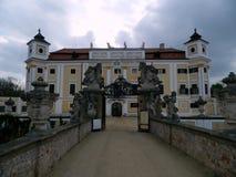 Castillo francés Milotice, República Checa Foto de archivo