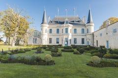 Castillo francés Palmer, Burdeos fotos de archivo