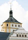 Castillo francés Pardubice Fotografía de archivo libre de regalías
