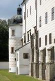 Castillo francés Pardubice Imágenes de archivo libres de regalías