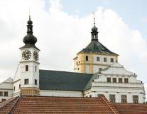 Castillo francés Pardubice Imagen de archivo