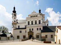 Castillo francés Pardubice Imagenes de archivo