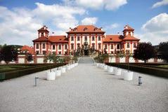 Castillo francés romántico Praga Imagenes de archivo