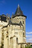 Castillo francés Saumur Imagenes de archivo