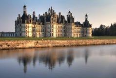 Castillo francés Valle del Loire de Chambord foto de archivo libre de regalías