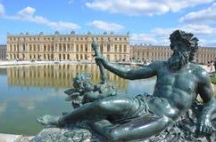Castillo francés Versalles en Francia Imagenes de archivo