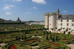 Castillo francés Villandry Imagenes de archivo