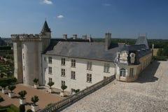 Castillo francés Villandry Fotos de archivo