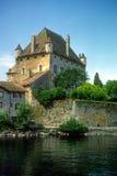 Castillo francés Yvoire fotografía de archivo