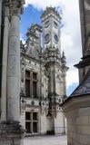 Castillo Francia de Chambord Foto de archivo libre de regalías