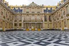 Castillo francés de Versalles, Francia Fotos de archivo libres de regalías