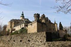 Castillo Frydlant Fotografía de archivo libre de regalías