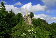 Castillo Frydstejn Foto de archivo libre de regalías