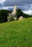 Castillo Frydstejn Imagen de archivo libre de regalías