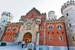 Castillo Fussen Alemania de Neuschwanstein imagenes de archivo
