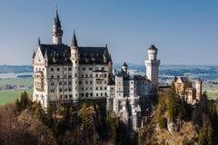 Castillo Fussen Alemania de Neuschwanstein foto de archivo libre de regalías