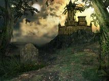 Castillo gótico Foto de archivo