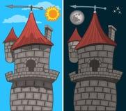 Castillo gótico - detalle libre illustration