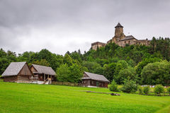 Castillo gótico Stara Lubovna Fotografía de archivo libre de regalías