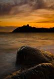 Castillo Galés Imagen de archivo libre de regalías