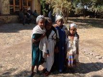 Castillo Gondar Etiopía de Fasil Foto de archivo
