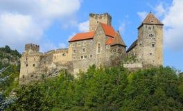 Castillo Hardegg imágenes de archivo libres de regalías