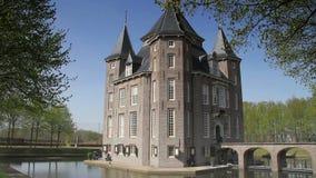 Castillo Heemstede en los Países Bajos metrajes