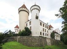 Castillo hermoso de Konopiste en República Checa imagenes de archivo