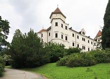 Castillo hermoso de Konopiste en República Checa fotos de archivo libres de regalías
