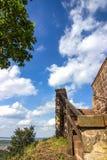 Castillo hermoso de Wartburg en Eisenach, Alemania detalles Fotos de archivo