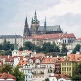 Castillo hermoso en Praga, República Checa Fotos de archivo