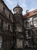 Castillo histórico Fotografía de archivo libre de regalías
