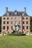 Castillo histórico Amerongen, los Países Bajos Imagen de archivo libre de regalías