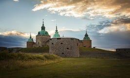 Castillo histórico de Kalmar Foto de archivo