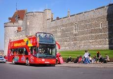 Castillo histórico de Windsor en Inglaterra Fotografía de archivo