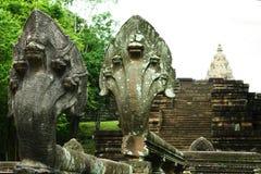 Castillo histórico del parque de Phanomrung de la arena del castillo del siglo XVI de la piedra foto de archivo libre de regalías