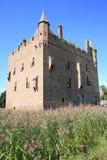 Castillo histórico Doornenburg en Güeldres, los Países Bajos Imagen de archivo libre de regalías