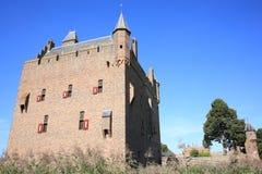 Castillo histórico Doornenburg en Güeldres, los Países Bajos Imágenes de archivo libres de regalías