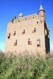 Castillo histórico Doornenburg en Güeldres, los Países Bajos Fotos de archivo libres de regalías