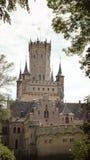 Castillo histórico en Baja Sajonia, Alemania, Schloss Marienburg Fotos de archivo libres de regalías