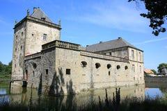 Castillo histórico Gesmold en Baja Sajonia, Alemania Fotografía de archivo