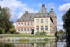 Castillo histórico Hovestadt en Westfalia, Alemania Imagen de archivo libre de regalías